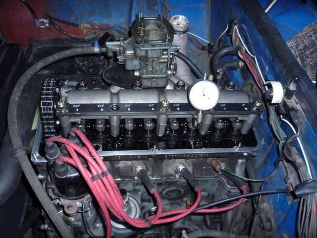 Двигатель со снятой крышкой