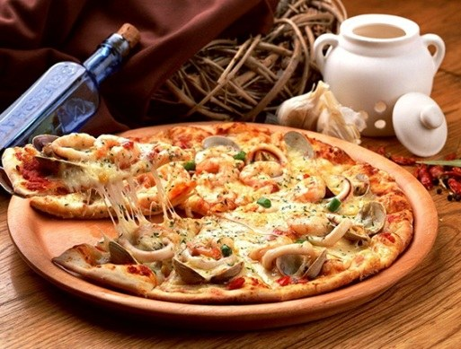 The recipe for liquid pizza dough