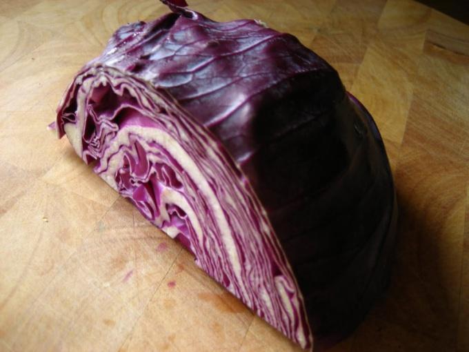 Что делать с фиолетовой капустой