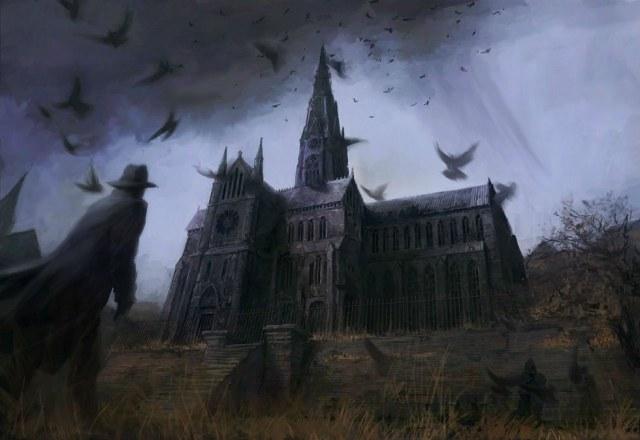 Мрачная и мистическая атмосфера - одна из особенностей готического романа