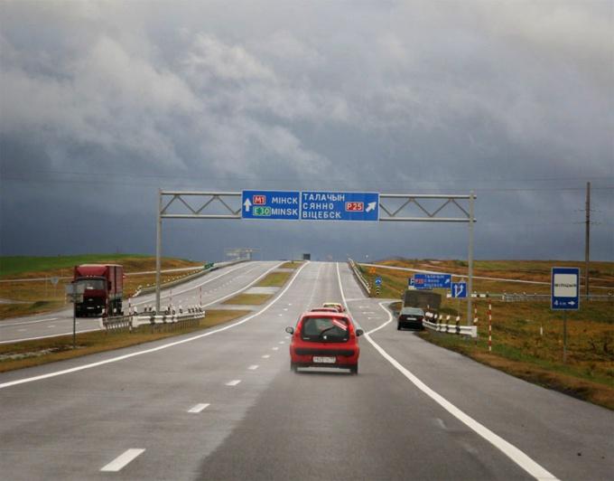 Автотрасса M-1 (E-30) через Белоруссию
