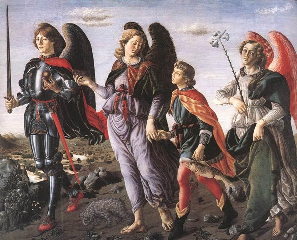 Archangels Michael, Raphael and Gabriel are the main warriors and guardians of God