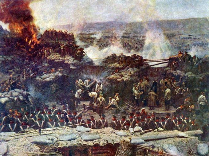 Оборона Севастополя (Франц Рубо)