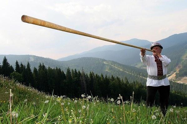 Какие есть украинские народные музыкальные инструменты