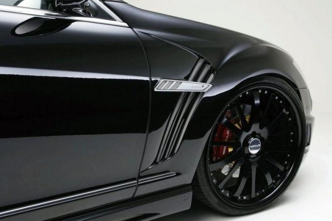 Как покрасить крыло автомобиля