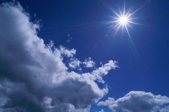 Солнце - главный источник ультрафиолетового излучения