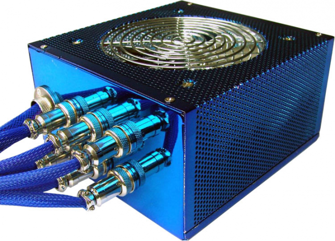 The power supply fan