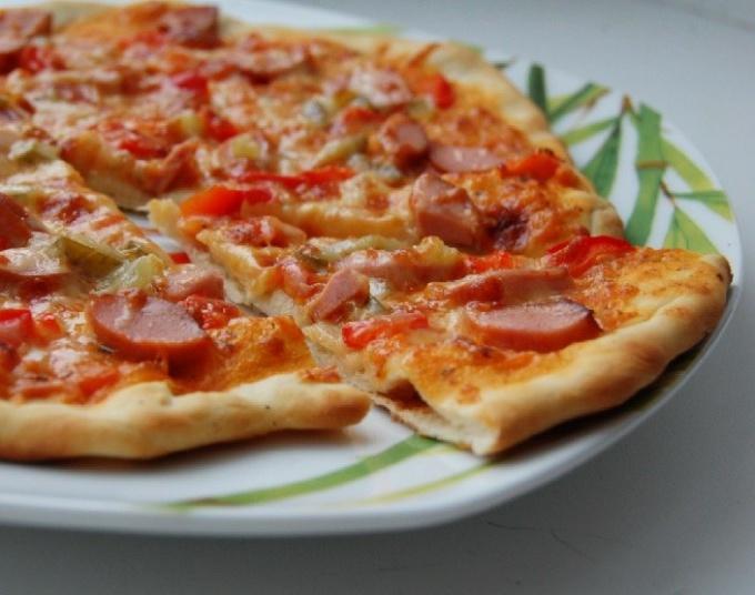 Как приготовить замороженную покупную пиццу