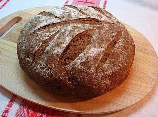 Рецепт выпечки ржаного хлеба дома в духовке