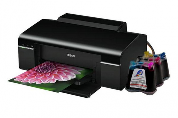 Printing photos on an inkjet printer
