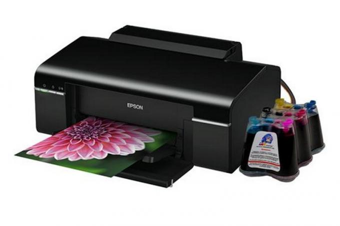 Печать фотографий на струйном принтере