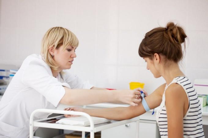 Плохие вены препятствуют нормальному забору крови