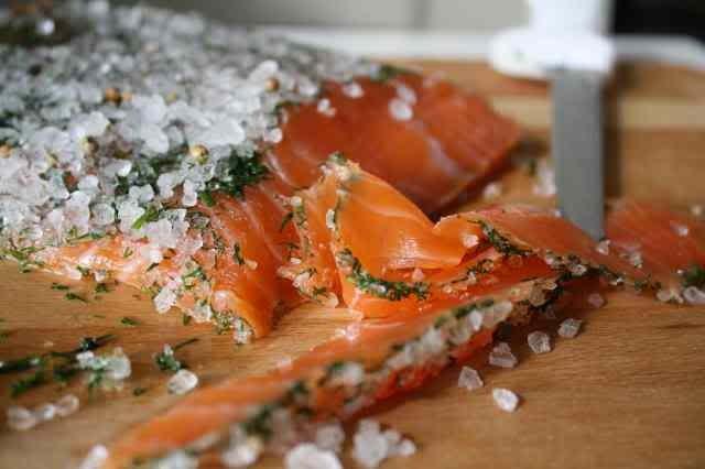 Как засолить филе семги в домашних условиях рецепт