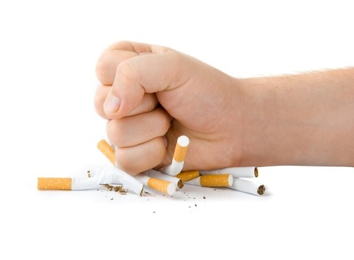 When improvement after quit Smoking