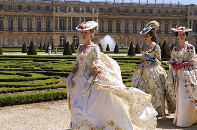 Как сшить платье 18 века