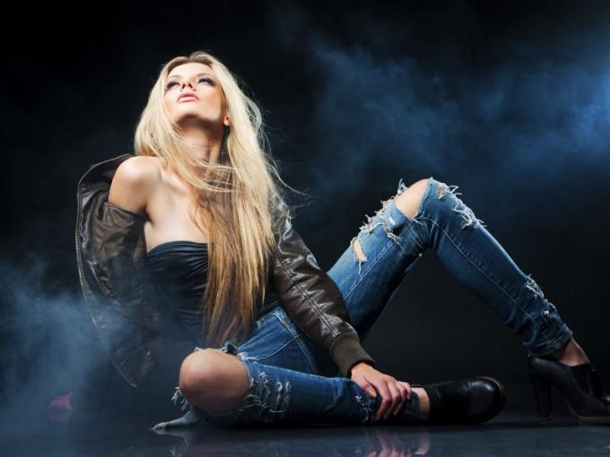 Holey jeans: fashion or bad taste?