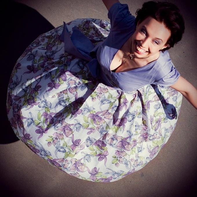 Платье 50-х годов