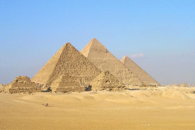 Чем замечателен египетский треугольник