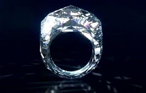 Кольцо из цельного камня