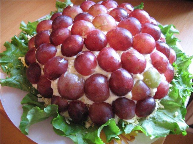 Паштет с виноградом