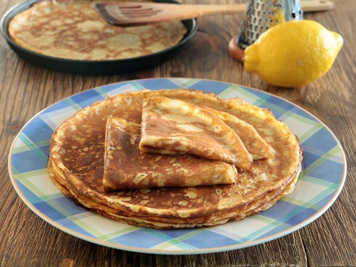 Как приготовить лимонные блинчики