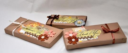 Как сделать открытку-шоколадницу