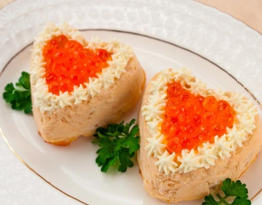 Как приготовить суфле из семги