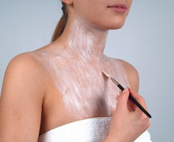 Уход за тонкой кожей шеи