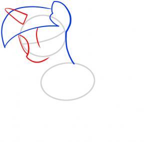 Как нарисовать Сумеречную Искорку