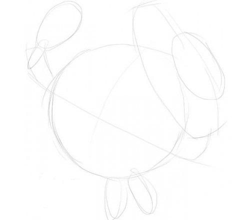 Как нарисовать Нюшу карандашом