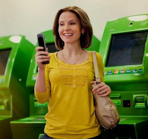 Как положить деньги с карты Сбербанка на телефон