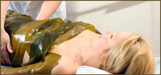 Как сделать водорослевое обертывание