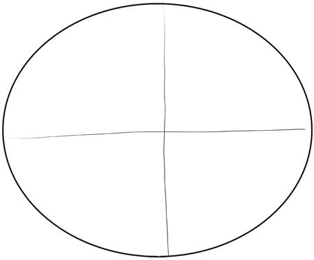 Как нарисовать Эрика Картмана поэтапно