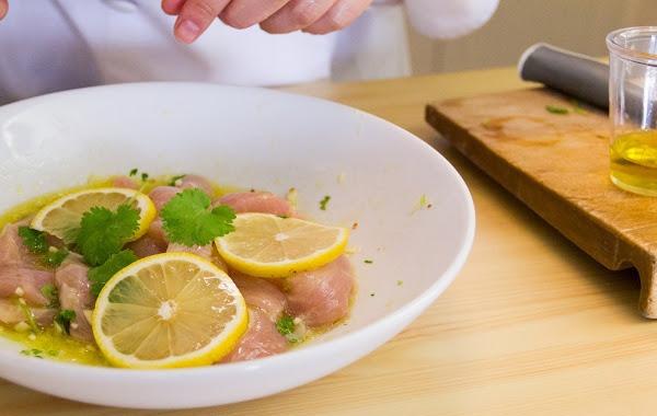 Как приготовить быструю закуску из куриного филе
