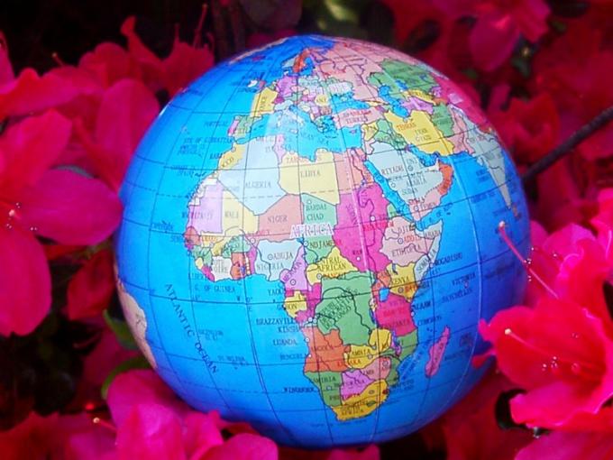 В Африке расположено 54 независимых государства