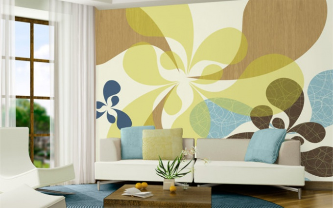 How to choose wallpaper for the interior?