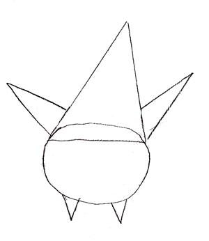 Как нарисовать Патрика поэтапно