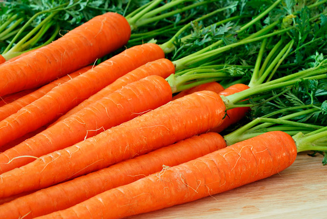 Easy and simple: carrot mask