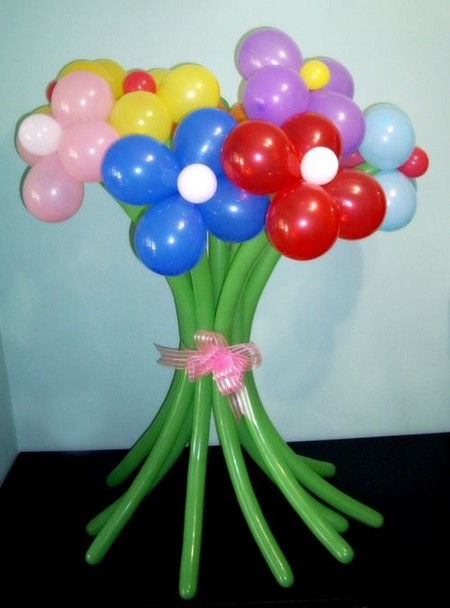 Букет из шаров своими руками