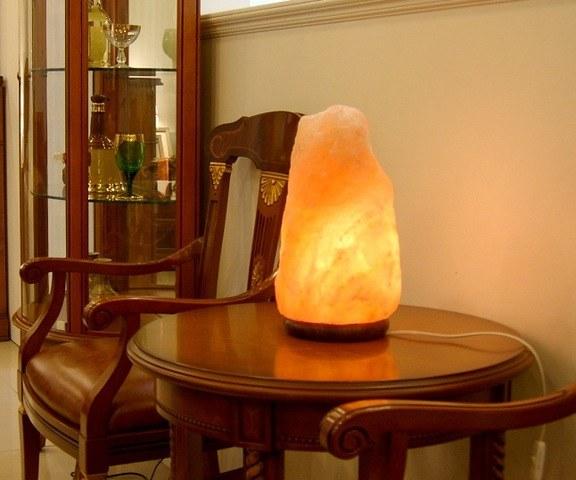 Вред и польза соляной лампы