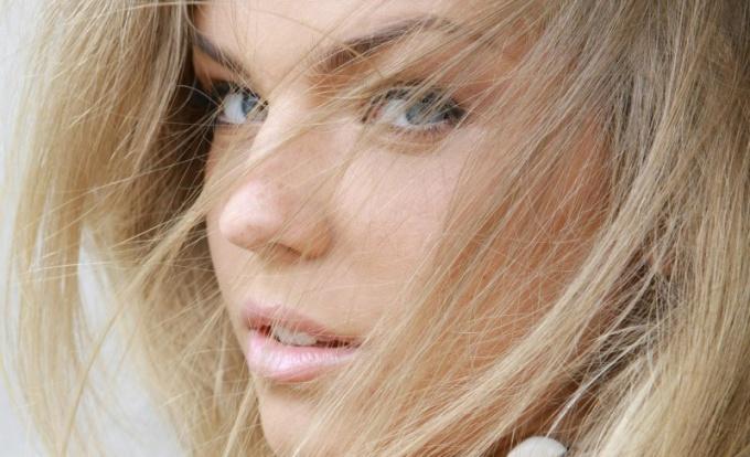 Русые волосы - это красиво