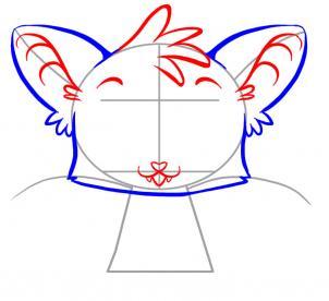 Как нарисовать летучую мышь поэтапно