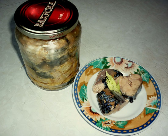 Mackerel canned