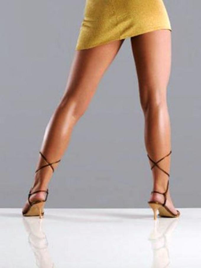 Как сделать ножки идеальными