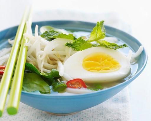 Суп с рисовой лапшой рецепт с фото