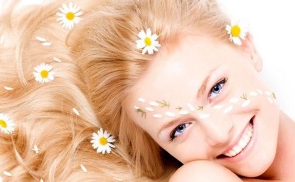 Натуральные осветляющие средства для волос