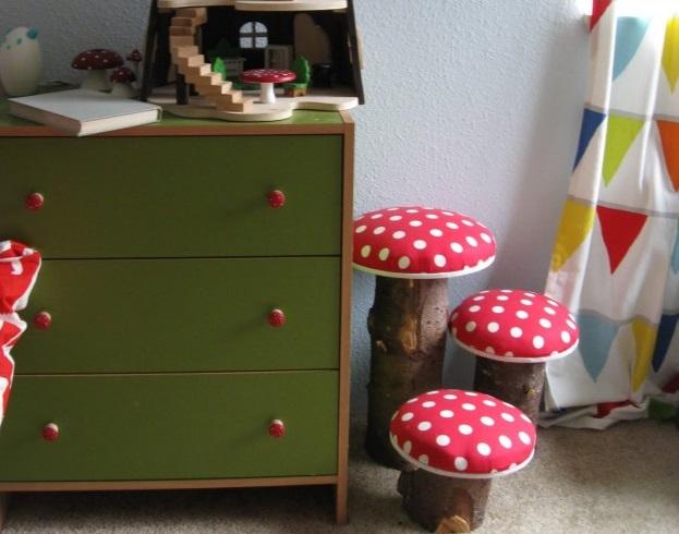 Как сделать стульчики для детской комнаты
