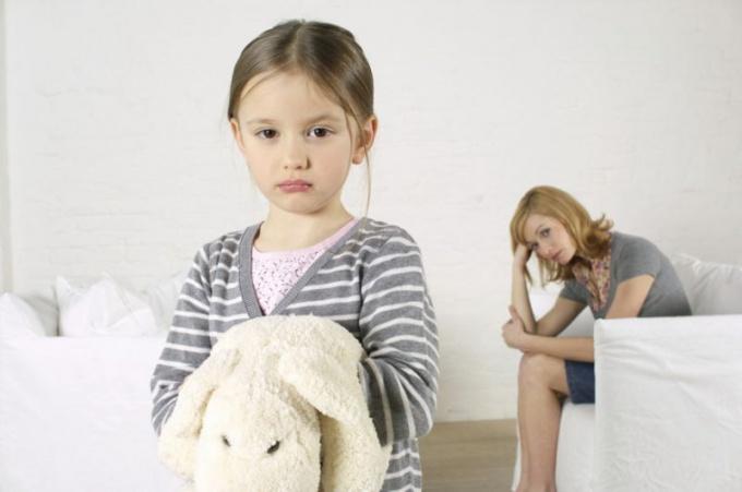 Наказанный ребенок