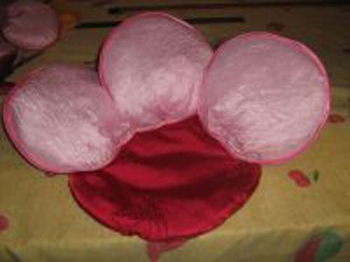 Как сшить подушку-розу