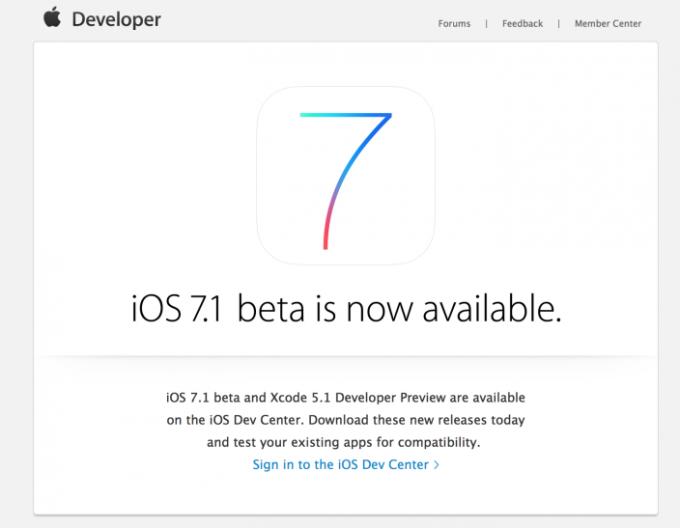 Что нового в iOS 7.1
